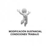 Modificación sustancial de condiciones de trabajo
